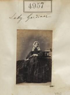 Caroline Mary (née Macleod), Lady Gardiner, by Camille Silvy - NPG Ax54965