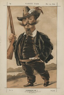 Victor Emmanuel II, King of Italy ('Sovereigns No. 7.'), by James Jacques Tissot - NPG D43416