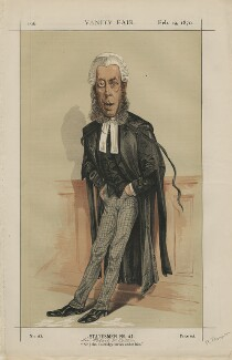Robert Porrett Collier, 1st Baron Monkswell ('Statesmen No. 41.'), by Alfred Thompson (Atn) - NPG D43419