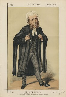 William Ballantine ('Men of the Day No. 4.'), by Alfred Thompson (Atn) - NPG D43421