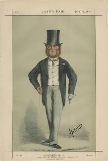 Edward Hugessen Knatchbull-Hugessen, 1st Baron Brabourne ('Statesmen No. 51.'), by Carlo Pellegrini - NPG D43435