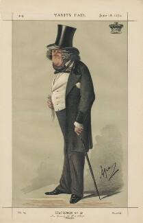 William Ward, 1st Earl of Dudley ('Statesmen No. 52.'), by Carlo Pellegrini - NPG D43436