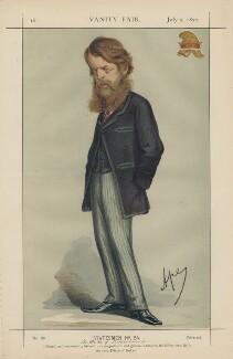 George Granville William Sutherland-Leveson-Gower, 3rd Duke of Sutherland ('Statesmen No. 54.'), by Carlo Pellegrini - NPG D43439