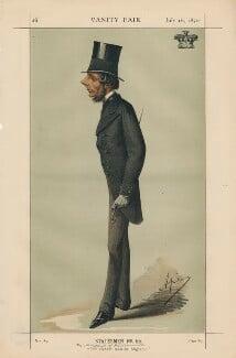 Hugh Lupus Grosvenor, 1st Duke of Westminster ('Statesmen No. 55.'), by Carlo Pellegrini - NPG D43440