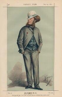 Hugo Francis, Lord Elcho ('Statesmen no. 56.'), by Carlo Pellegrini - NPG D43441