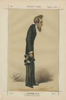(William) Henry Lytton Earle Bulwer, Baron Dalling and Bulwer ('Statesmen No. 61.'), by Carlo Pellegrini - NPG D43446