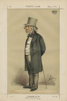 Richard Monckton Milnes, 1st Baron Houghton ('Statesmen No. 62.'), by Carlo Pellegrini - NPG D43447