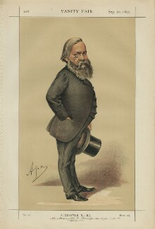 Alexander James Beresford Beresford Hope ('Statesmen No. 63.'), by Carlo Pellegrini - NPG D43448