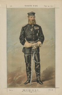 Frederick III, Emperor of Germany and King of Prussia ('Men of the Day No. 11.'), by James Jacques Tissot - NPG D43450