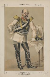 Prince Otto Edward Leopold von Bismarck-Schonhausen ('Statesmen No. 66.'), by James Jacques Tissot - NPG D43453
