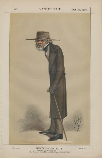 Thomas Carlyle ('Men of the Day no. 12.'), by Carlo Pellegrini - NPG D43454