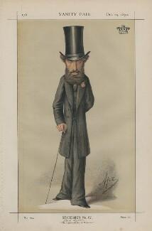 Edward George Earle Lytton Bulwer Lytton, 1st Baron Lytton ('Statesmen No. 67.'), by Carlo Pellegrini - NPG D43455