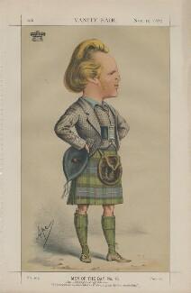 John George Edward Henry Douglas Sutherland Campbell, 9th Duke of Argyll ('Men of the Day No. 13.'), by Carlo Pellegrini - NPG D43458