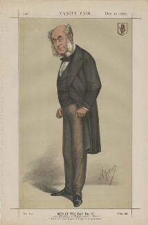 Sir William Fergusson, 1st Bt ('Men of the Day No. 17.'), by Carlo Pellegrini - NPG D43462