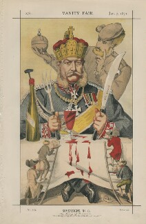 Wilhelm I, Emperor of Germany and King of Prussia ('Sovereigns, No. 8.'), by James Jacques Tissot - NPG D43465