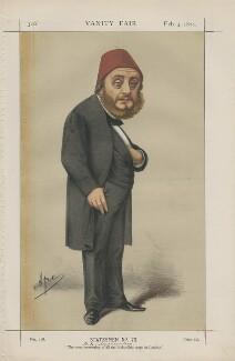 Constantine ('Costaki') Musurus Pasha (Statesmen No. 73.'), by Carlo Pellegrini - NPG D43469