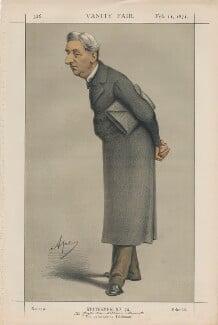 William Monsell, 1st Baron Emly ('Statesmen No. 74.'), by Carlo Pellegrini - NPG D43470
