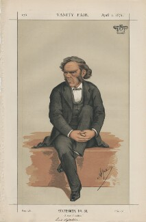 George William Lyttelton, 4th Baron Lyttelton ('Statesmen, No. 80., by Carlo Pellegrini - NPG D43477