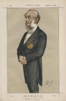 Sir Francis Grant ('Men of the Day, No. 21.'), by Carlo Pellegrini - NPG D43481