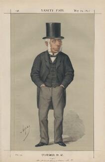 Michael Thomas Bass ('Statesmen, no. 84.'), by Carlo Pellegrini - NPG D43484