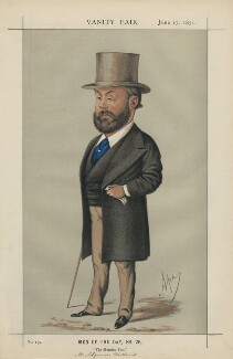 Algernon Borthwick, 1st Baron Glenesk ('Men of the Day, No. 26.'), by Carlo Pellegrini - NPG D43488