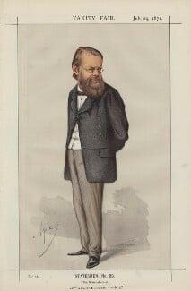 Edward Miall ('Statesmen, No. 89.'), by Carlo Pellegrini - NPG D43494
