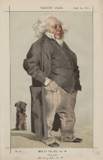 Sir Henry Cole ('Men of the Day, No. 29.'), by James Jacques Tissot - NPG D43497