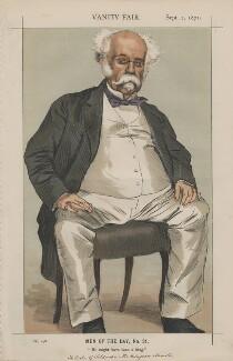 João Carlos de Saldanha, Duke of Saldanha ('Men of the Day, No. 31.'), by James Jacques Tissot - NPG D43499