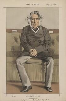 Russell Gurney ('Statesmen, No. 92.'), by Carlo Pellegrini - NPG D43500