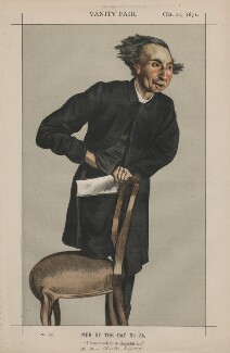 Charles Voysey ('Men of the Day No.34.'), by James Jacques Tissot - NPG D43506