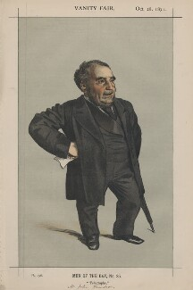 Sir John Pender ('Men of the Day, No. 35.'), by James Jacques Tissot - NPG D43507