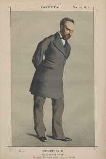 Sir Charles Wentworth Dilke, 2nd Bt ('Statesmen No. 97.'), by James Jacques Tissot - NPG D43511