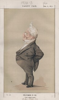 Louis Adolphe Thiers (Statesmen, No. 103.'), by Adriano Cecioni - NPG D43517