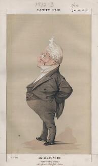 Louis Adolphe Thiers (Statesmen, No. 103.'), by Adriano Cecioni - NPG D43517