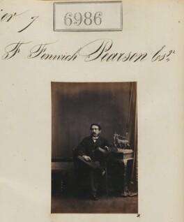 Francis Fenwick Pearson, by Camille Silvy - NPG Ax56904