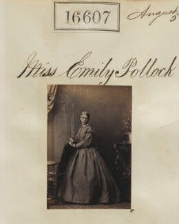 Emily Charlotte Pollock, by Camille Silvy - NPG Ax64512
