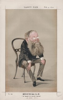 (William) Wilkie Collins ('Men of the Day, No. 39.'), by Adriano Cecioni - NPG D43521
