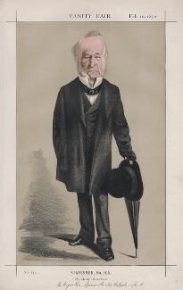 Spencer Horatio Walpole ('Statesmen, No. 105., by Adriano Cecioni - NPG D43522