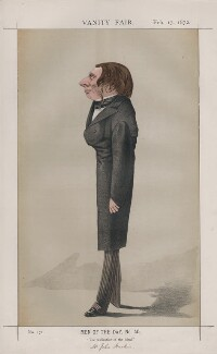 John Ruskin (Men of the Day, No. 40.'), by Adriano Cecioni - NPG D43523