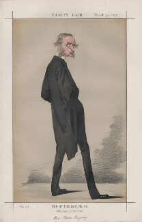 Charles Kingsley ('Men of the Day, No. 42.'), by Adriano Cecioni - NPG D43529