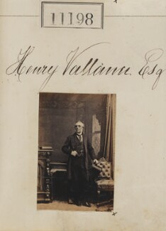 Henry Vallance, by Camille Silvy - NPG Ax60897