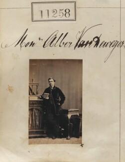 Albert Silvain Bates Van De Weyer, by Camille Silvy - NPG Ax60953