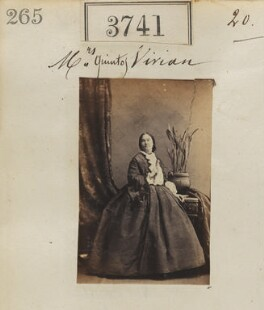 Isabella Jane Vivian, by Camille Silvy - NPG Ax53133