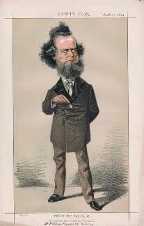 William Hepworth Dixon ('Men of the Day No. 45.'), by Adriano Cecioni - NPG D43533