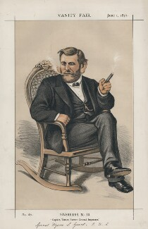 Ulysses Simpson Grant ('Sovereigns, No. 10.'), by Thomas Nast - NPG D43538