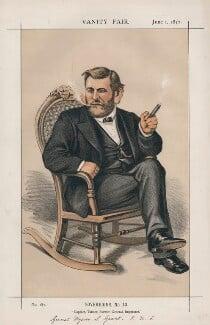Ulysses Simpson Grant ('Sovereigns, No. 10.'), by Thomas Nast - NPG D43538