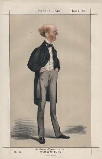 Thomas Hughes ('Statesmen, No. 114.'), by Adriano Cecioni - NPG D43539