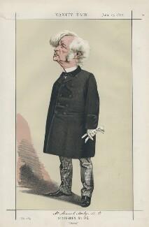 Samuel Morley ('Statesmen, No. 115.'), by Adriano Cecioni - NPG D43540