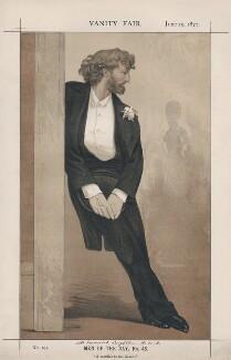 Frederic Leighton, Baron Leighton ('Men of the Day, No. 46.'), by James Jacques Tissot - NPG D43542
