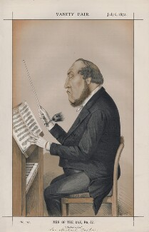 Michael Costa  ('Men of the Day, No. 47.'), by Charles Lyall - NPG D43543